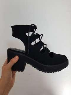 Women's Cut-Out Booties