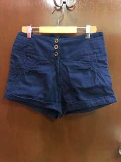 Charlie. High Waist Shorts
