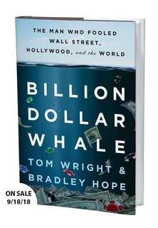 Book Billion Dollar Whale(Finance/Politic/Crime story/Non fiction