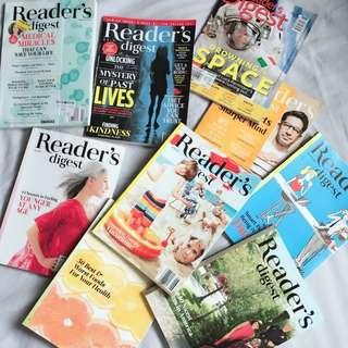 Readers Digest collection - 9 books!