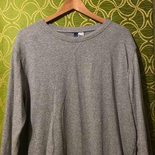 H&M gray pullover