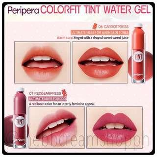 Authentic Peripera Color Fit Water Gel Tint 06 07