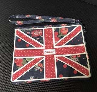 英國鄉村風牛仔布收納袋/化妝包