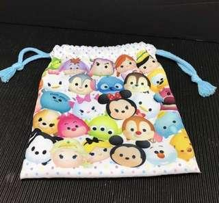 Tsum Tsum繽紛束口袋/收納袋