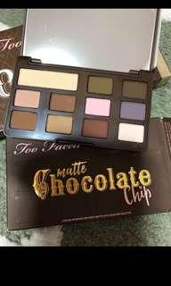 Brand New Too Faced matte Chocolate eyeshadow sephora