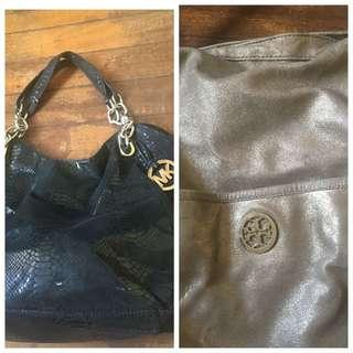 LAST PRICE POSTED: Bundle Sale Michael Kors & Tory Burch Bag
