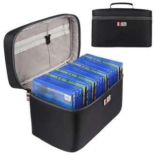 BUBM Portable Game Disc Carrying Case Storage Bag