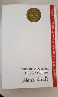 Pre love The life Changing Magic of Tidying book