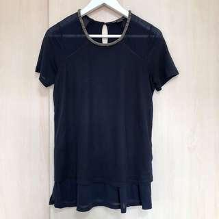 Armani Exchange navy top