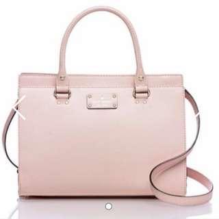 Kate Spade Bag In Posey Pink