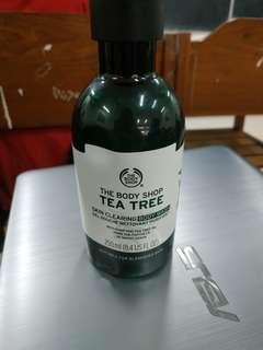 [REPRICE] The Body Shop Tea Tree Body Wash 250mL (90%, exp 12/2019)