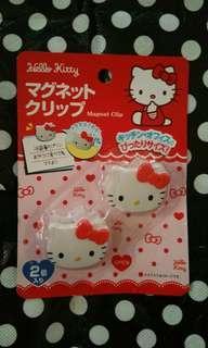 Hello Kitty 磁石夾(包平郵)
