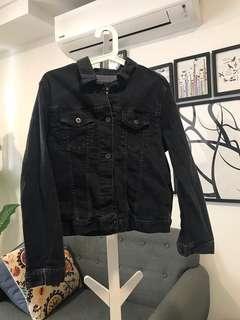 Uniqlo Black Denim Jacket XL