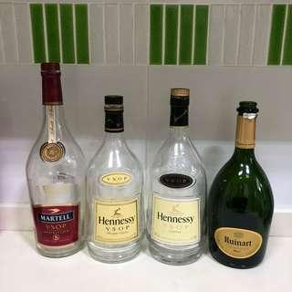 Liquor Glass Bottles