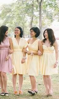 #SBUX50 Yellow Infinity Dress