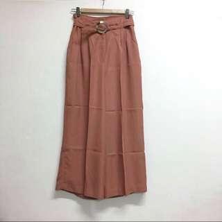 🍂 brick retro vintage culottes