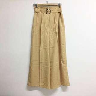 🌻 yellow retro vintage culottes