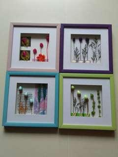 Art Craft Paintings (27 x 28 cm each)