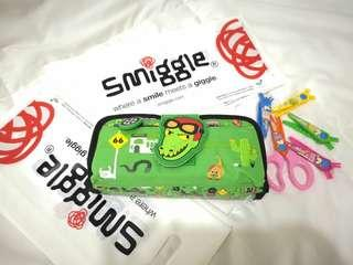 Smiggle Soft Pencil Case with Sweet Smell #singles1111