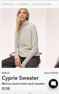 Aritzia cyprie sweater.