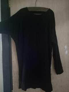 Tunik batwing black