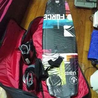 Brand new Liquid Force Wakeboard with boots and bag