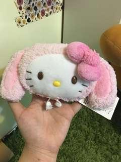 🚚 正品 kitty 扮裝 美樂蒂 小包 零錢包