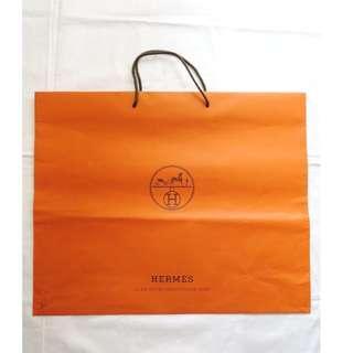 HERMES extra large shopping bag 特大尺碼紙袋