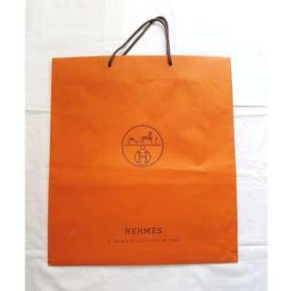 HERMES medium large shopping bag 中至大尺碼紙袋