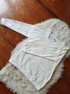 Vero Moda White Sweater