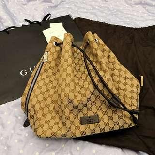 100% Gucci backpack(New)