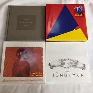 [FINAL CLEARANCE] SHINEE ALBUMS