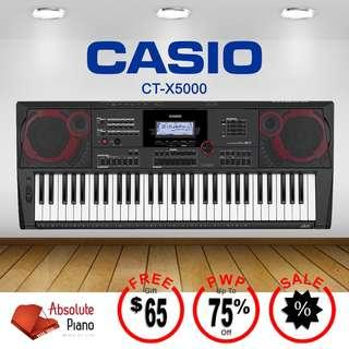 Casio Music Sale @ Viva Business Park!  Casio Keyboard CT-X 5000
