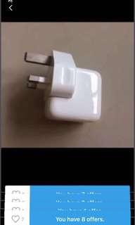 Apple original 10W Power adapter for iPhone or iPad