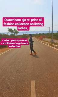 Sale and re price fashion collection now dont miss it