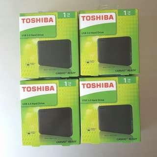 Toshiba Canvio 1TB External HDD