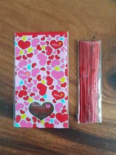 (10% discount! 7cm x 12cm) Pretty 💖 Goodie Bags