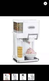 BNIB Cuisinart Soft Serve Machine
