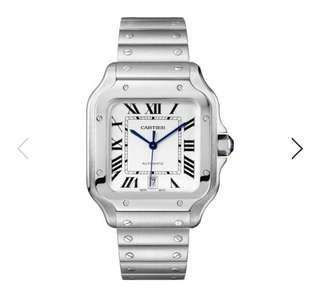 Sale🔥BNIB Cartier Santos Watch