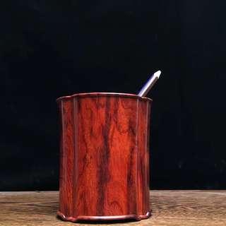 印度小葉紫檀筆筒