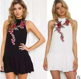 S - XL Floral Dress