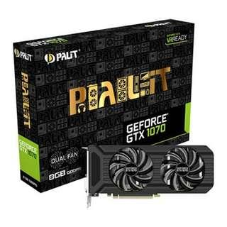 Palit NVIDIA GeForce GTX 1070 8GB Graphics Card