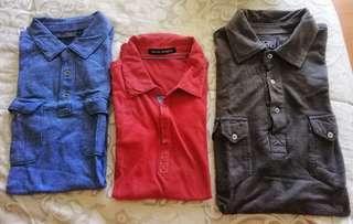 Lot: Apt9/Michael Brandon/Point Zero Polo Shirts