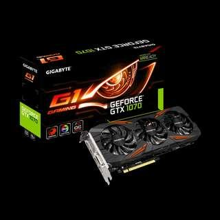 GIGABYTE GeForce® GTX 1070 G1 Gaming 8GB Graphic Card
