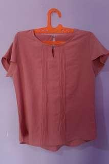 blouse woman pink