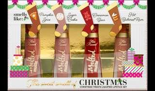 Too Faced Liquified Lipstick - Sugar. Cookie