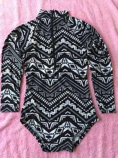 1-pc Rashguard Swimsuit