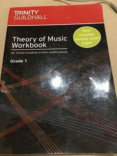 Theory of Music Workbook Trinity Guildhall