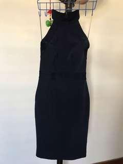 Midnight Blue Fitted Dress size 32