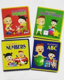 ABC, Numbers, Shapes and Colors and Words Board Book